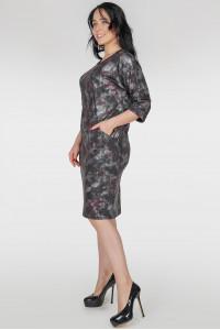 Сукня «Шанія» темно-сірого кольору
