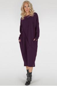 Сукня «Діша-лайт» кольору марсала