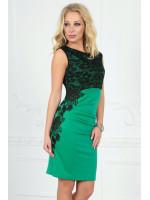 Платье «Клайси» зеленого цвета