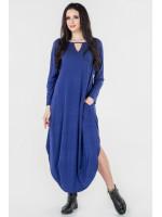 Платье «Николь» василькового цвета