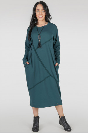 Платье «Диша-лайт» цвета морской волны
