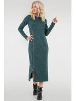 Платье «Астрид» зеленого цвета