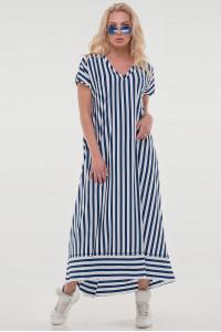 Сукня «Блайд» в біло-синю смужку