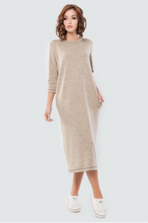 Сукня «Енджі» бежевого кольору
