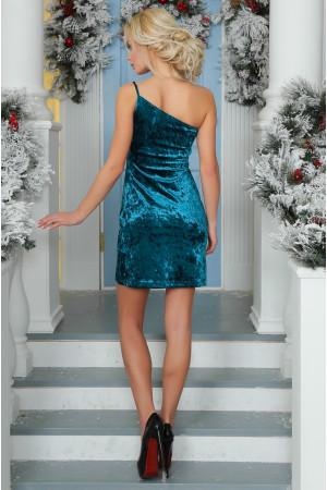 Платье «Тивин» зеленого цвета