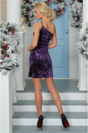 Платье «Тивин» сиреневого цвета