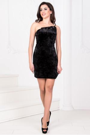 Платье «Тивин» черного цвета