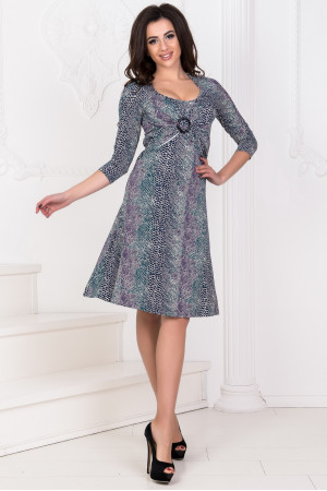 Платье «Ламоль» зеленый тон