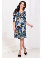 Сукня «Ламоль» синій тон
