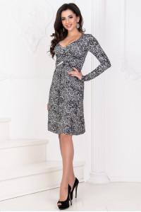 Платье «Дайна» серый тон