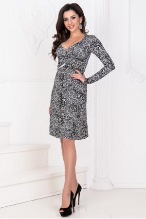 Сукня «Дайна» сірий тон