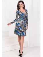 Сукня «Дайна» синій тон