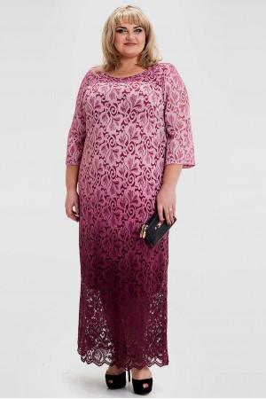 Сукня «Торжество» бордового кольору