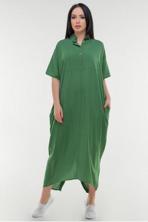Платье «Огаста» зеленого цвета