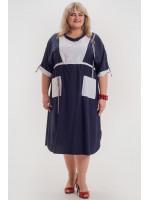 Сукня «Роксі» синього кольору