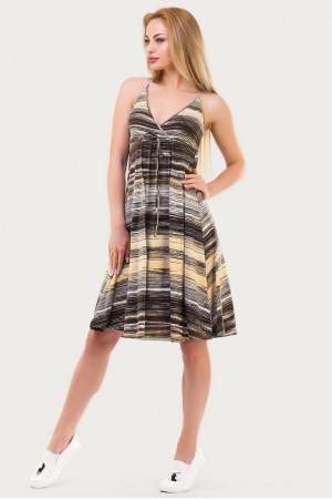 Сукня «Фелті» жовто-коричневого кольору