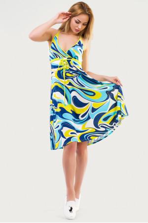 Платье «Фелти» голубой тон