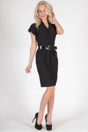 Платье «Мэвис» черного цвета