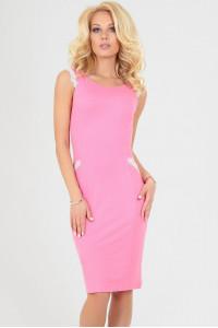 Платье «Этель» розовое