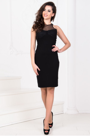 Платье «Энис» черного цвета
