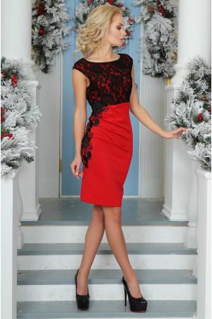 Сукня «Клайсі» червоного кольору
