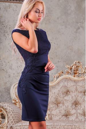 Сукня «Клайсі» темно-синього кольору