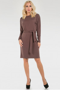 Платье «Корра» коричневого цвета