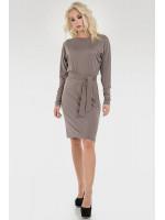 Платье «Корра» серого цвета