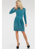 Платье «Бинги» бирюзового цвета