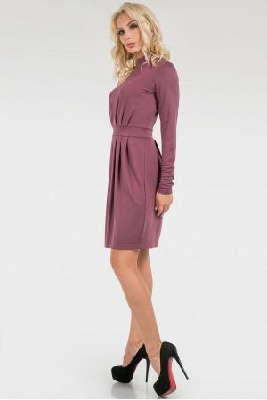 Платье «Бинги» сиреневого цвета
