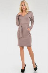 Сукня «Глейдіс» бежевого кольору