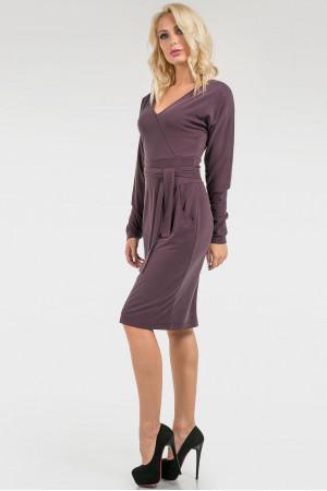Платье «Глейдис» фиолетового цвета