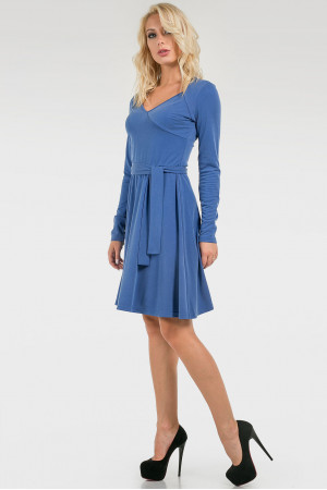 Платье «Минзар» голубого цвета