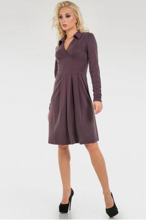 Платье «Сандрин» фиолетового цвета