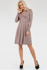 Платье «Сандрин» бежевого цвета