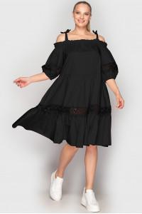 Сукня «Дарка» чорного кольору