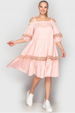 Сукня «Дарка» рожевого кольору