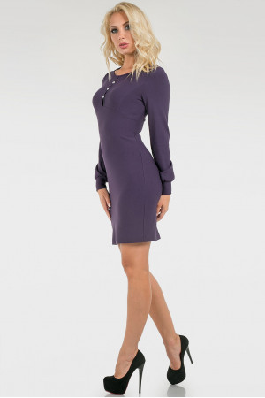 Платье «Флари» фиолетового цвета
