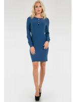 Платье «Флари» синего цвета
