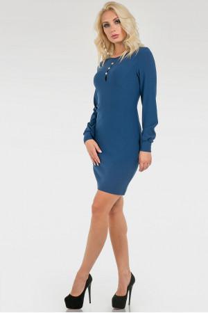 Сукня «Фларі» синього кольору