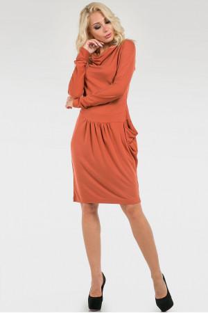 Сукня «Івін» помаранчевого кольору