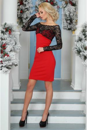 Сукня «Доміро» червоного кольору