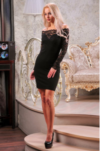 Сукня «Доміро» чорного кольору