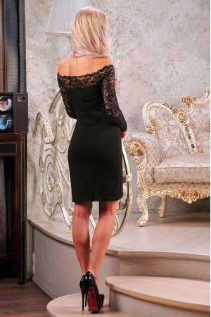 Платье «Домиро» черного цвета