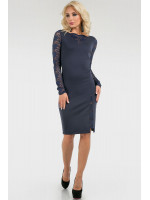 Сукня «Монік» темно-синього кольору