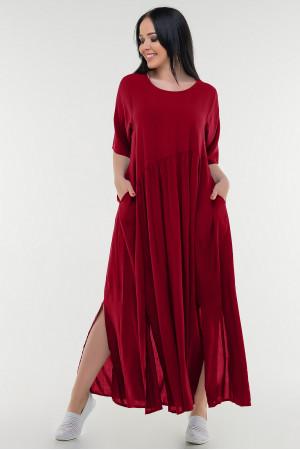 Платье «Алиша» красного цвета