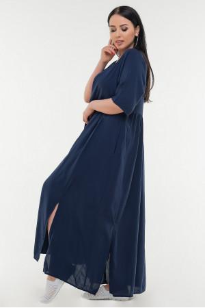 Сукня «Аліша» темно-синього кольору