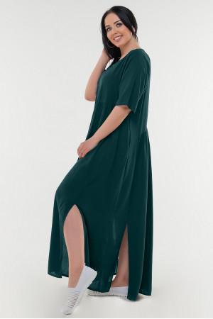 Сукня «Аліша» пляшкового кольору