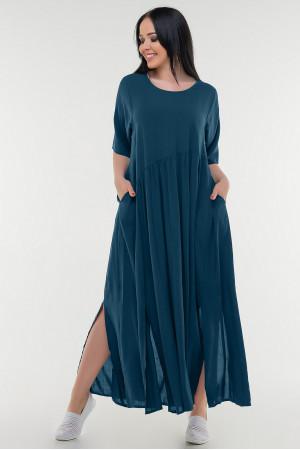 Платье «Алиша» цвета морской волны