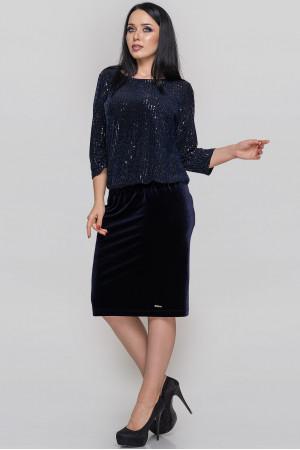 Сукня «Ліверія» синього кольору